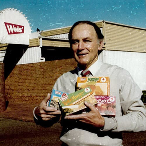 1990 - Company founder Les Weis in the early 90's