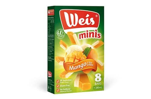 Mango & Ice Cream Minis